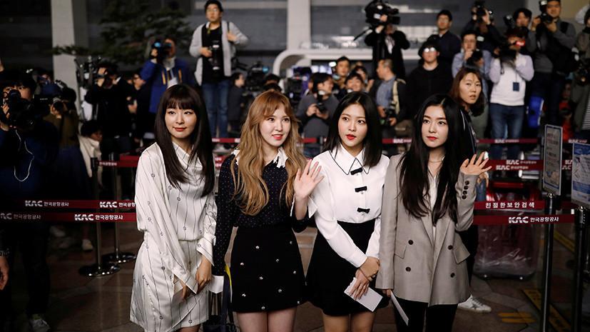 Музыканты из Южной Кореи отправились в КНДР для участия в концертах