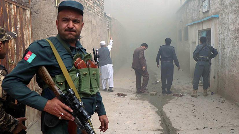 Двое военных погибли при взрыве на юге Афганистана