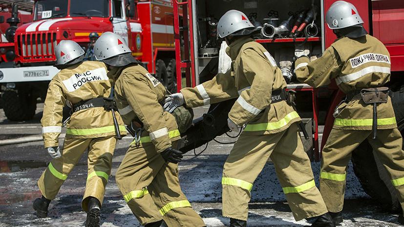 В Нижегородской области произошёл пожар на базе отдыха