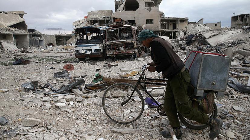 Главная автомагистраль Дамаска разблокирована впервый раз засемь лет