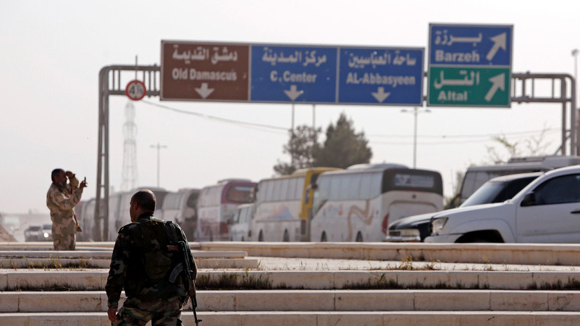 Армия Сирии впервые с 2011 года разблокировала главную автомагистраль Дамаска