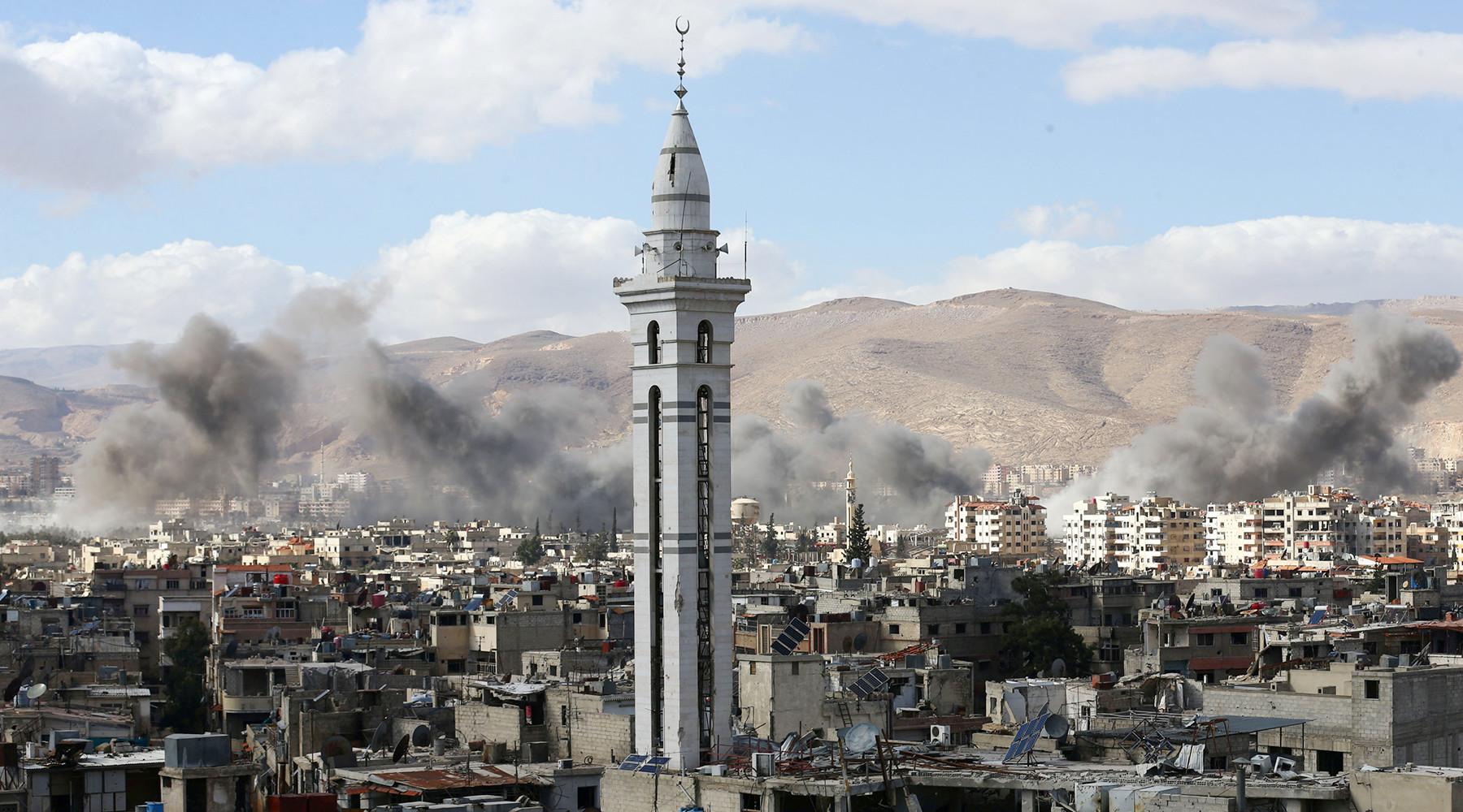 США устроят провокацию, чтобы ударить поДамаску— Генштаб