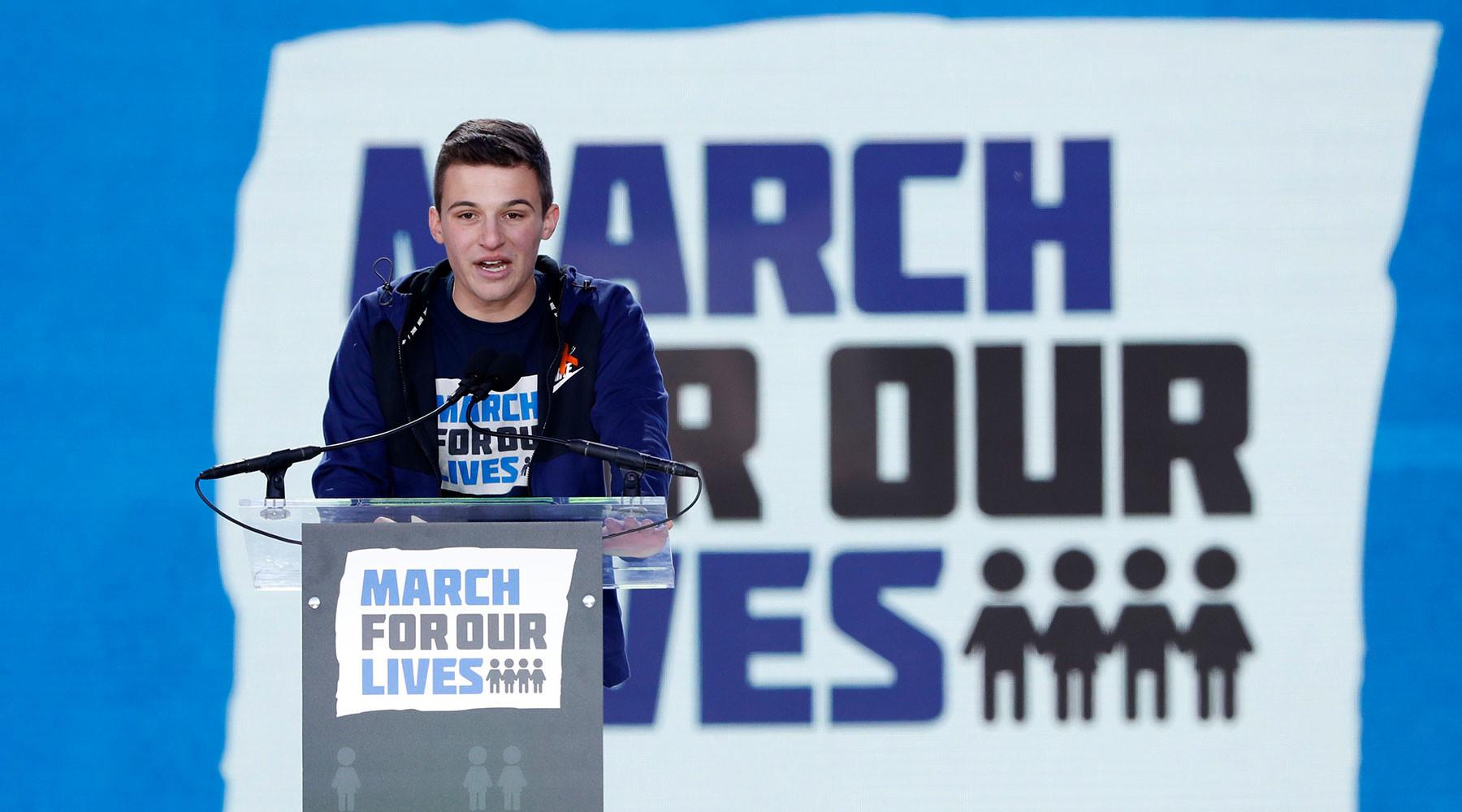 США подростки против оружия