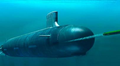 Макет беспилотной подводной лодки «Статус-6»