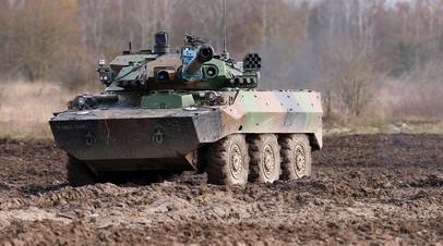 Французский колёсный танк AMX-10RC