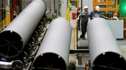 Загорский завод, который производит трубы для «Газпрома»
