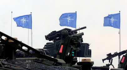 Во время военных учений НАТО в Польше