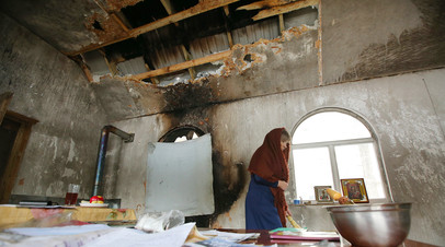 Последствия поджога храма Преображения Господня Украинской православной церкви Московского патриархата в Киеве