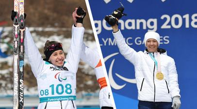 Михалина Лысова и  Анна Миленина