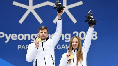 Спортсмен-ведущий Алексей Иванов и Михалина Лысова