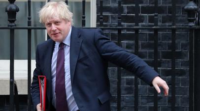 Глава МИД Великобритании Борис Джонсон