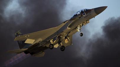 Самолёт F-15 израильских ВВС