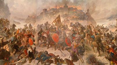 Диорама «Оборона Козельска 1238 г.»