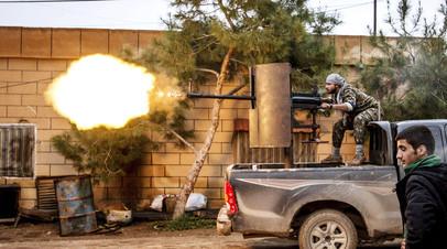 Боевик из курдского отряда народной самообороны