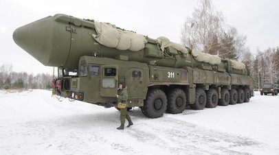 Подвижный грунтовый ракетный комплекс «Ярс»
