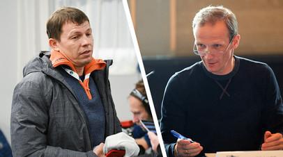 Виктор Майгуров и Владимир Драчёв