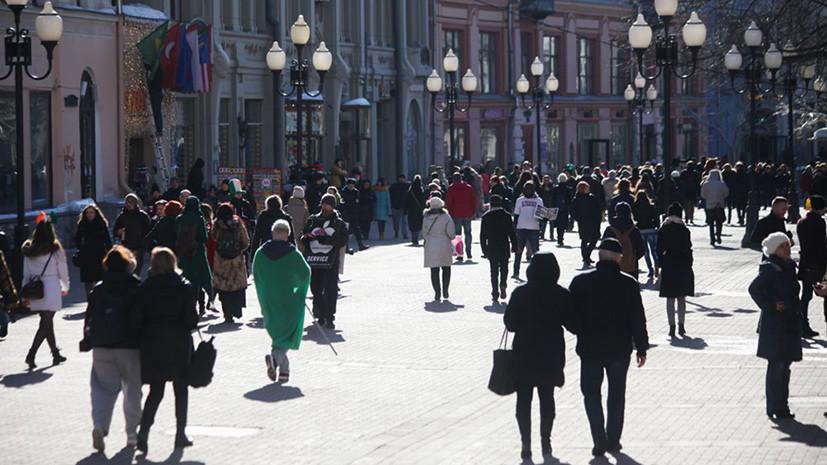 В Москве 1 апреля ожидается до +6 °С