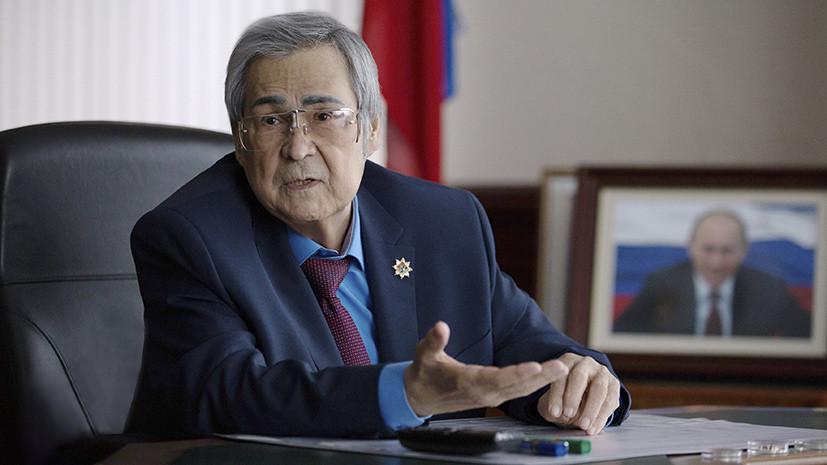 «По собственному желанию»: Путин принял отставку губернатора Кемеровской области Амана Тулеева
