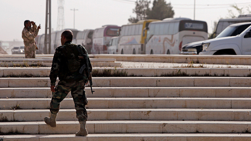 Освобождённые в Восточной Гуте люди рассказали о «варварском отношении» боевиков к ним