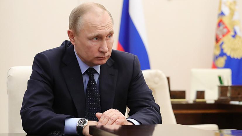Путин принял отставку Тулеева