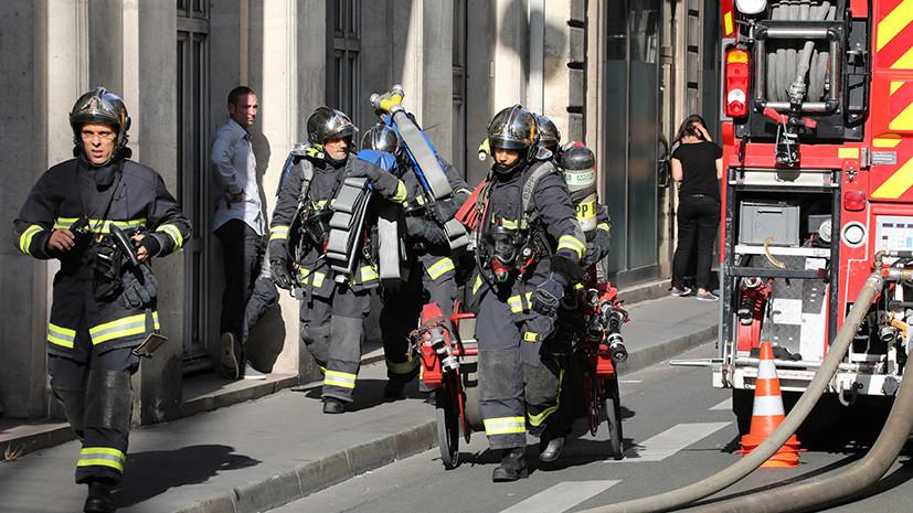 Два ребёнка погибли в результате пожара во Франции