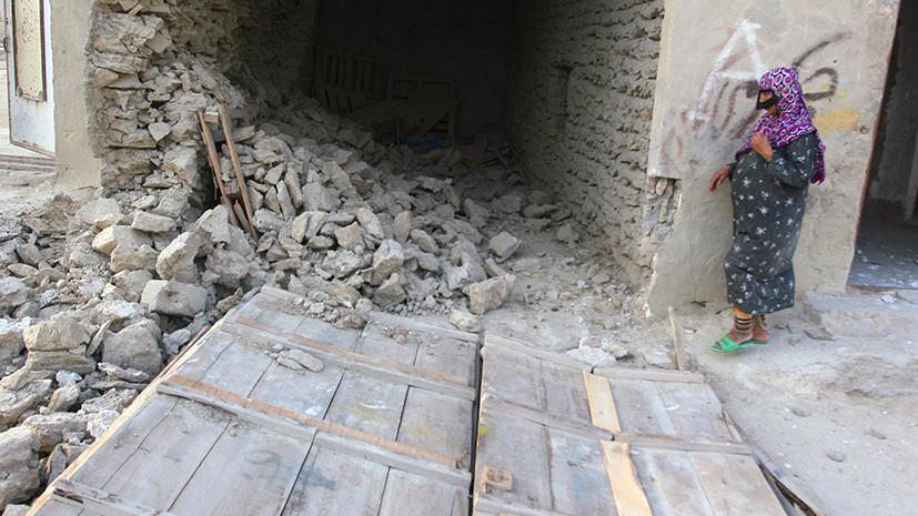 Более 20 человек пострадали в результате землетрясения в Иране
