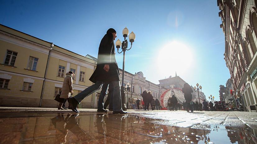 «Снега много, но можно загорать»: к Пасхе в Москве потеплеет до +15 °C