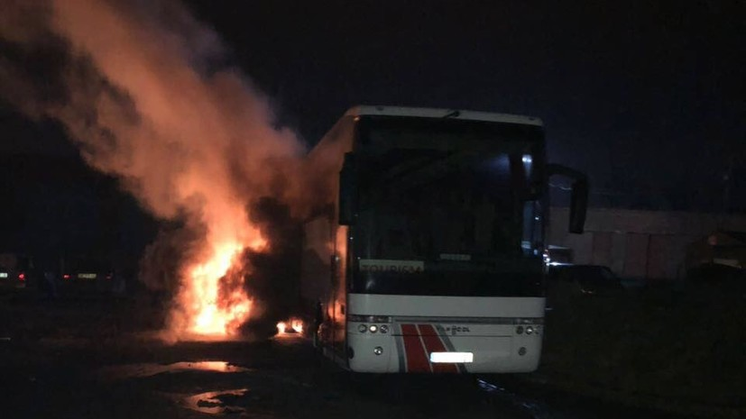 Депутат горсовета Львова сообщил о поджоге польского автобуса радикалами