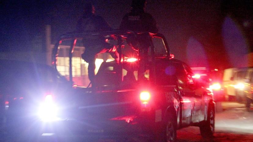 СМИ: Во время бунта в мексиканской тюрьме погибли семь полицейских