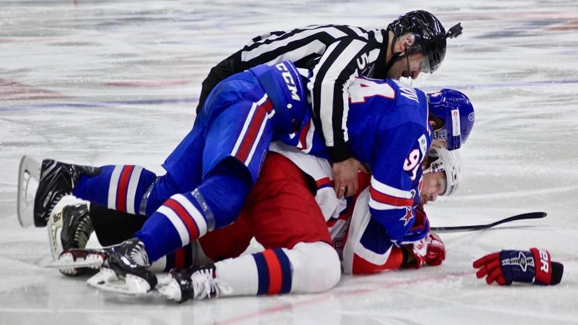 «Ак Барс» защитил свой лёд, СКА — нет: как стартовали финалы конференций в КХЛ