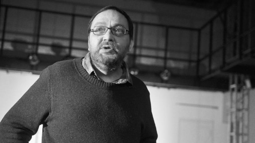 Заславский назвал смерть Михаила Угарова потерей для русского театра