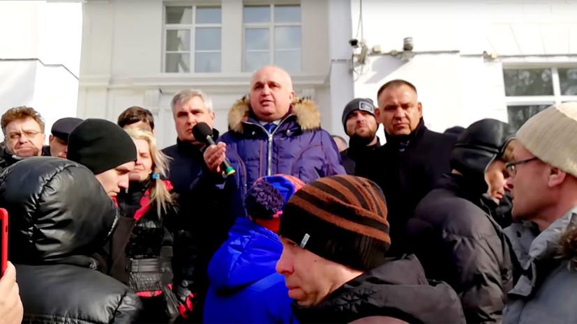 «Пострадавшим при пожаре обеспечим помощь на долгие годы»: врио главы Кузбасса обозначил свои основные задачи