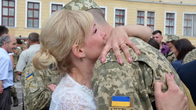 На Украине начался весенний призыв в армию