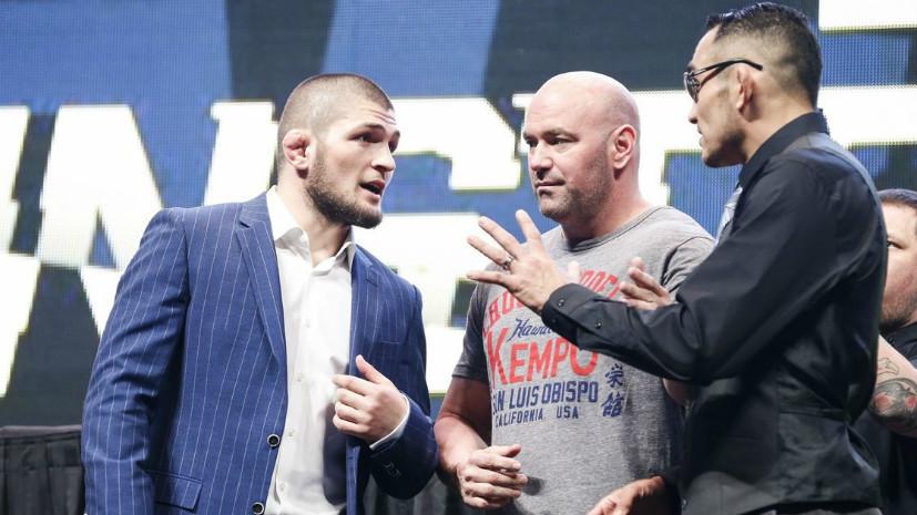 Синдром отмены: UFC выбрал в соперники Нурмагомедову другого чемпиона из-за травмы Фергюсона