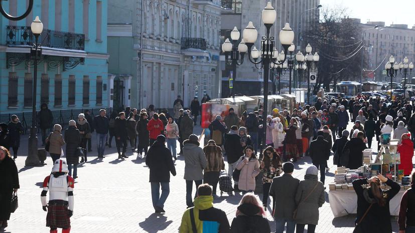 В Москве зафиксирован самый тёплый день с начала года