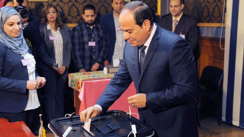 Ас-Сиси одержал победу на выборах президента Египта