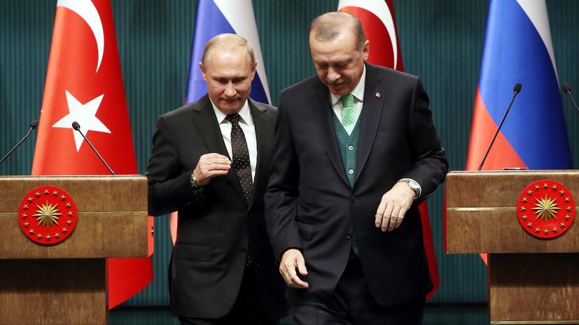 Ушаков назвал темы предстоящих переговоров Путина и Эрдогана