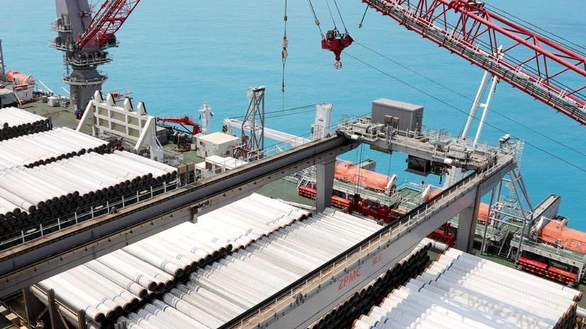 В Кремле рассказали о реализации проекта газопровода «Турецкий поток»