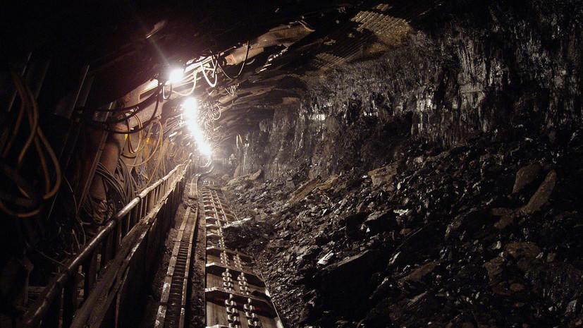 На Украине 240 горняков остались в шахте после отключения электричества