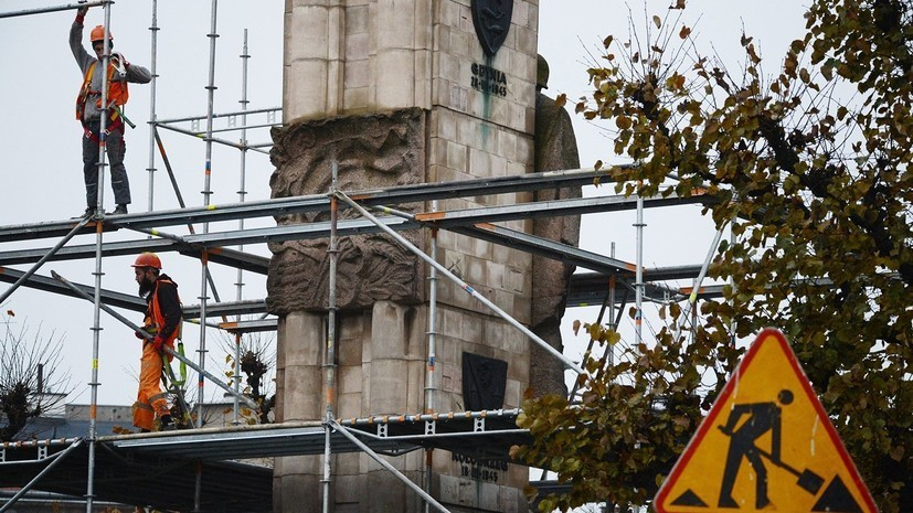 В Польше с начала года зафиксировали 18 случаев незаконного демонтажа советских памятников