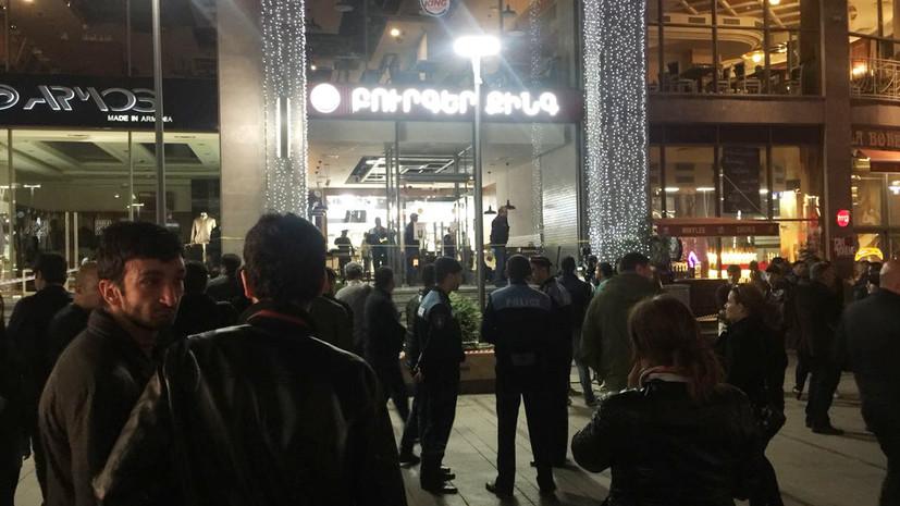 Число пострадавших при взрыве в центре Еревана возросло до девяти