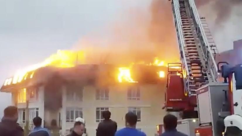 Пожар в пятиэтажном доме в Сочи полностью ликвидирован