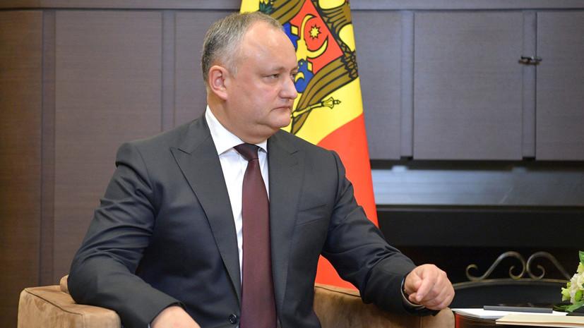 Президенты Приднестровья и Молдавии проведут встречу в конце апреля
