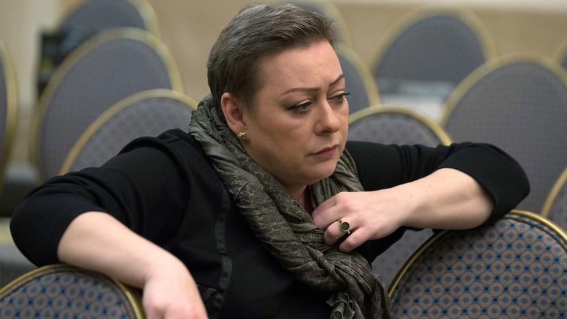 Аронова рассказала о причинах «забастовки» перед спектаклем в Сургуте