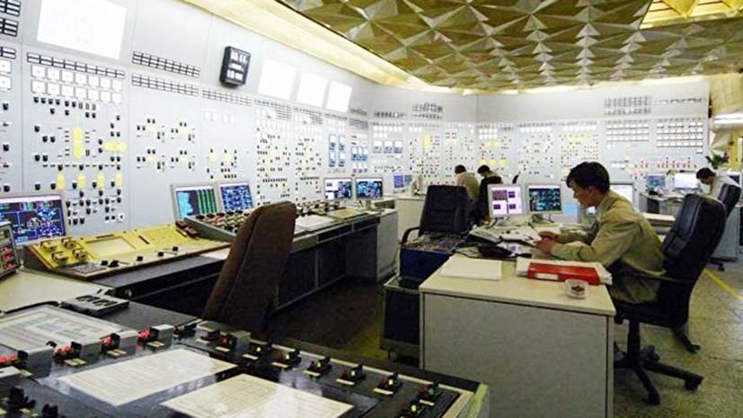 На Украине автоматически отключился от сети первый энергоблок Хмельницкой АЭС