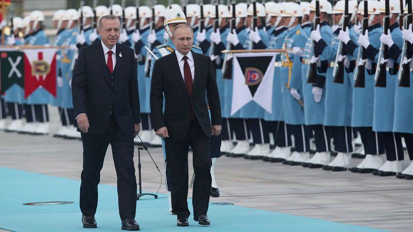 Эрдоган и Путин дали старт строительству АЭС «Аккую»
