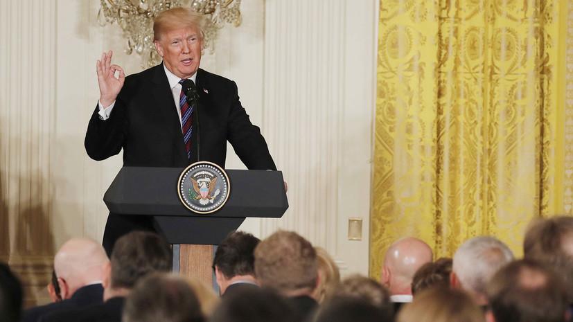 Трамп заявил о планах вывести американские войска из Сирии