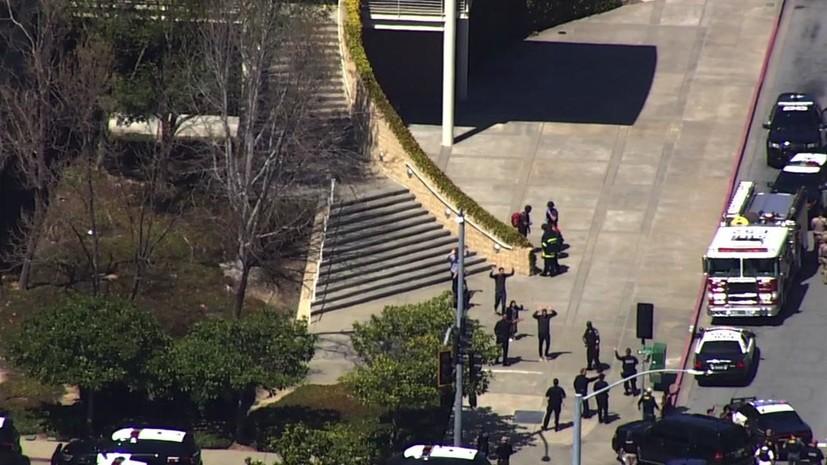 В полиции сообщили о стрельбе в штаб-квартире YouTube