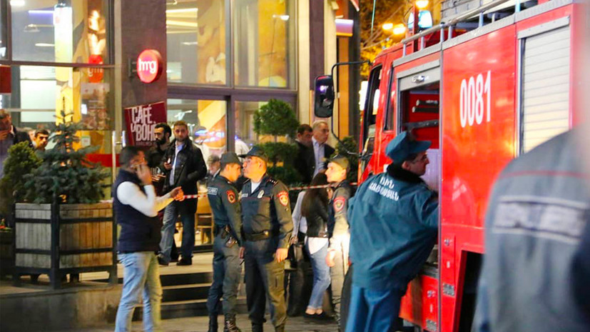 Пострадавших при взрыве в Ереване россиян выписали из больницы