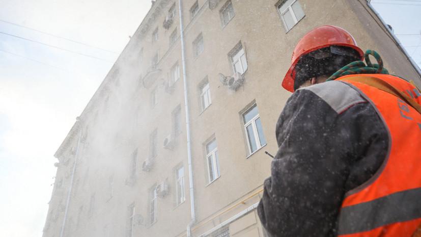 В Вологде возбудили дело по факту травмирования школьника из-за падения снега с крыши
